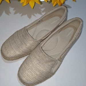 Grasshoppers Size 9.5 Beige Flats